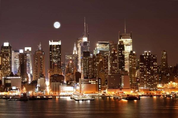Картинки ночного города (35 фото) • Прикольные картинки и ...