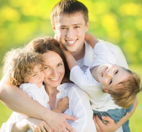 Картинки счастливой семьи (40 фото) • Прикольные картинки ...