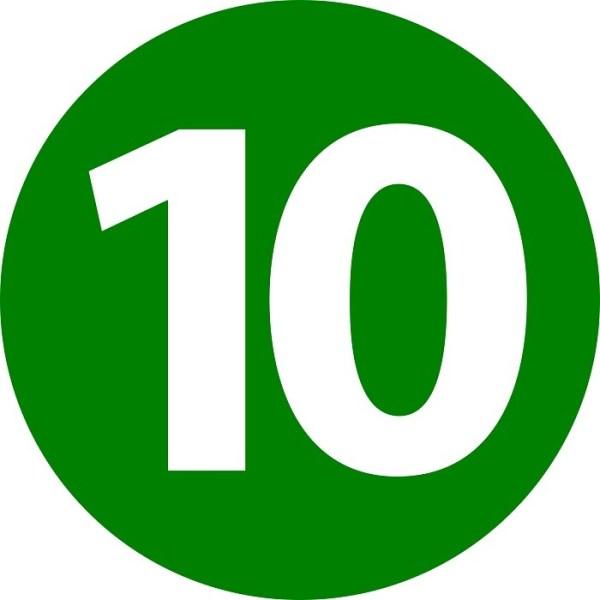 Картинки цифра 10 (25 фото) • Прикольные картинки и позитив
