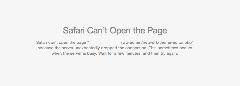 Safari-can't-open-page-because-the-server-unexpectedly-dropped-the-connection.-This-sometimes-occurs-when-the-server-is-busy