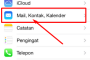 Cara Setting Email di iPhone dan iPod Touch