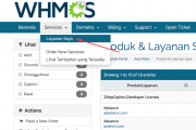 Cara Ganti Password cPanel melalui Billing Area (whmcs)