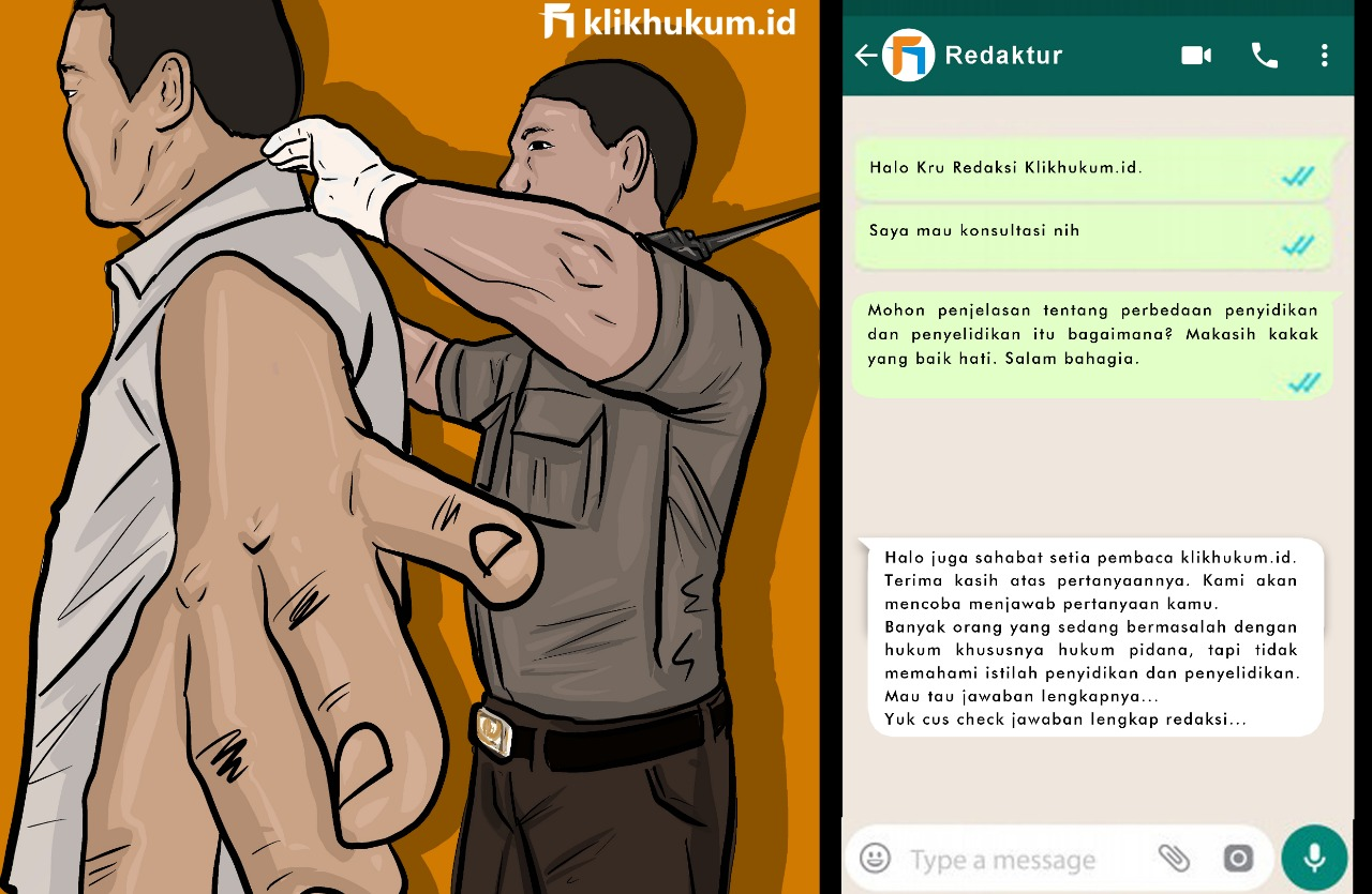 CURKUM #89 PERBEDAAN PENYIDIKAN DAN PENYELIDIKAN