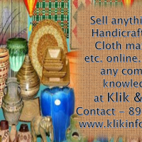 Sell your HANDICRAFT ITEMS Online…