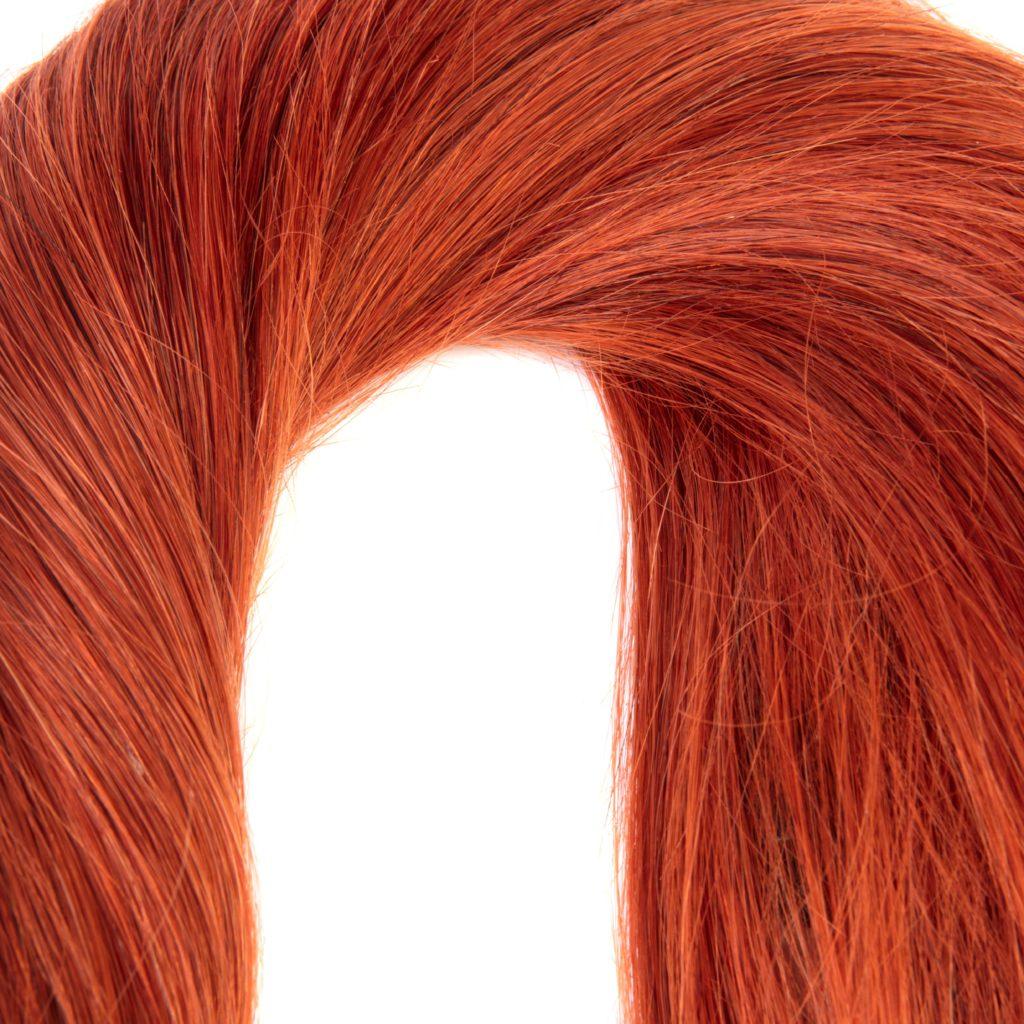 hairextensions productfotografie bestemd voor webshop kleur 350 Remy