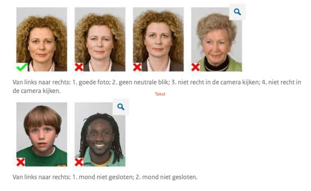 Pasfoto laten maken