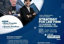 Legalpreneurship The 11th Series : Strategy for Law firm to Survive The Normal Era