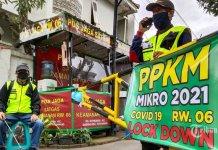 Pemerintah Resmi Perpanjang PPKM Mikro Hingga 8 Maret 2021