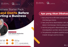 """webinar: """"Business Starter Pack: Do's and Don'ts Before Starting a Business"""""""