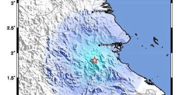 gempa tektonik berau