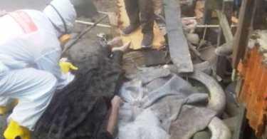 evakuasi mayat di sungai samarinda