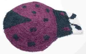 Χαλάκι ζωάκια και φράουλα 40x55 Cotton