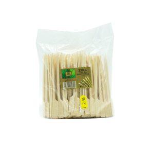 Ξυλάκι Bamboo Στυλ Κουπί 15cm (200ΤΕΜ)