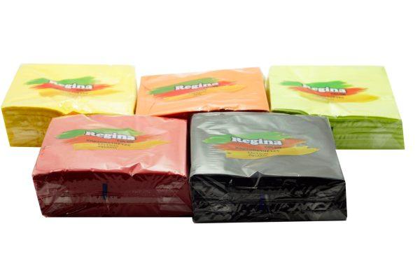 Χαρτοπετσέτες Πολυτελείας Πολύχρωμες 33x33 50TEM