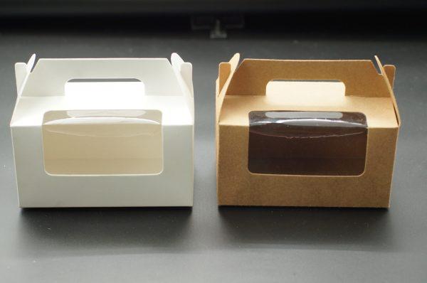 Κουτί με λαβή και παράθυρο 16.5x9.5x9