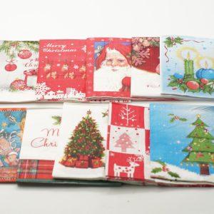 Χριστουγεννιάτικες Χαρτοπετσέτες 33×33 20TEM