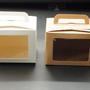Κουτί Κράφτ Λευκό με Παράθυρο