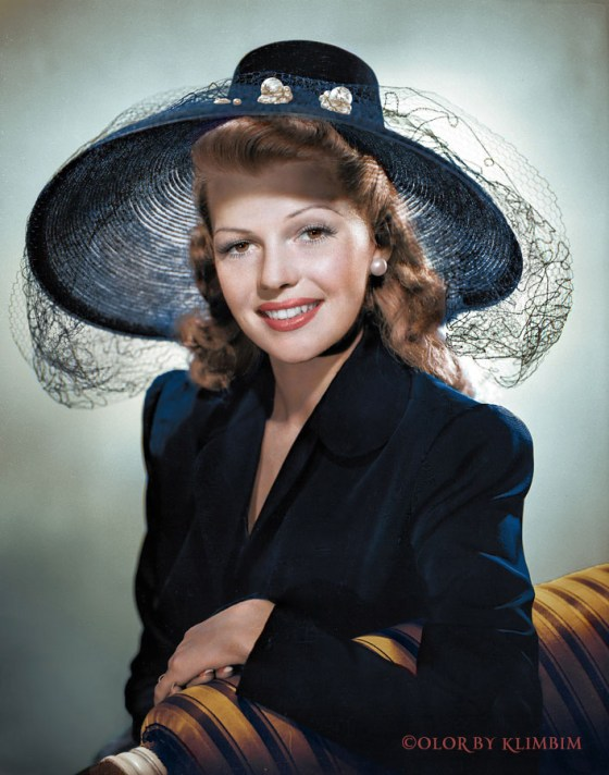Rita Hayworth – Color by Klimbim