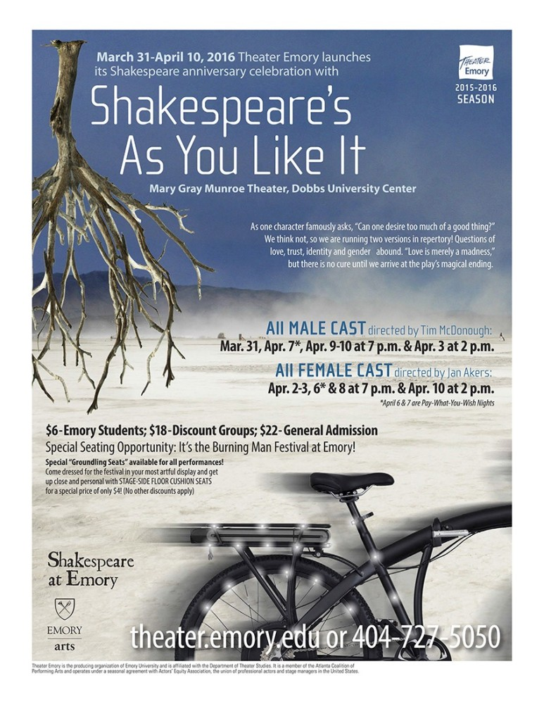 As You Like It at Theater Emory