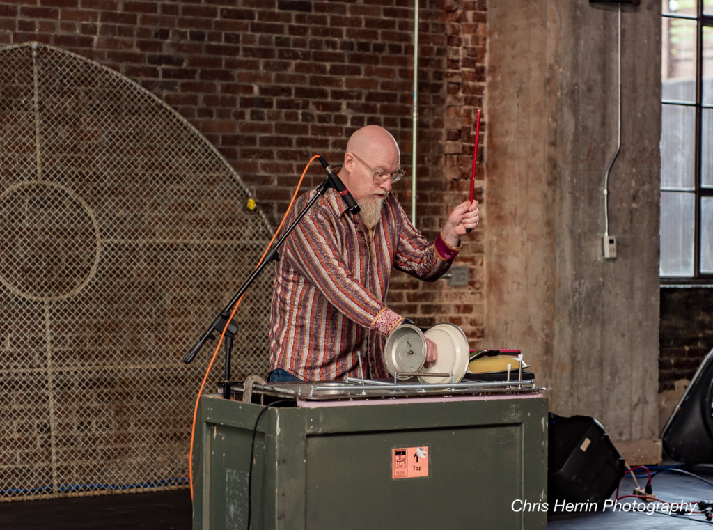 Performing at the LBC Silent Auction. Photo By Chris Herrin.