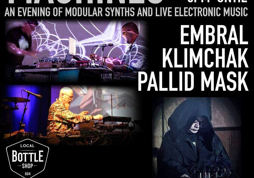 Live on the radio November 16th – Klimchak / embral / Pallid Mask