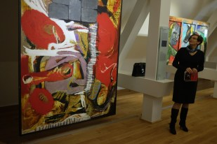 Joanna Korsan talking about Eugeniusz Minciel's work