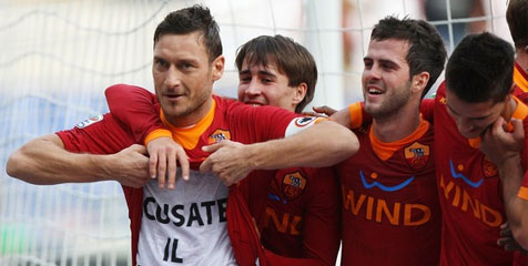 Review: Totti Pimpin Roma Bekuk Chievo