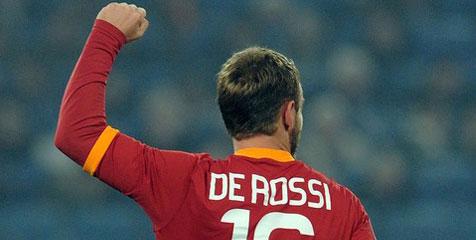 'De Rossi Akan Koyak Gawang Lazio Dalam Derby Roma'