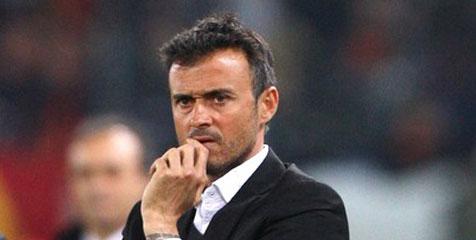 Enrique: Fokus Milan Takkan Teralihkan Barcelona