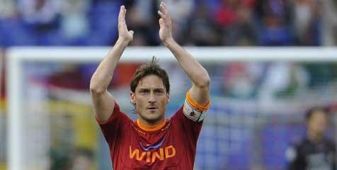 Totti: Rasa Cinta Saya Ke Roma Begitu Besar