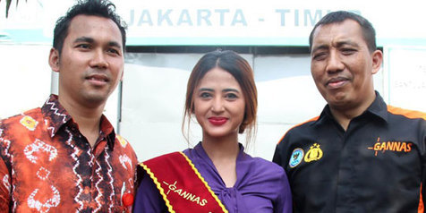Dewi Perssik Jadi Duta Peduli Korban Narkoba