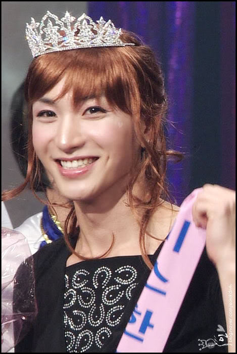 Leeteuk cross dress
