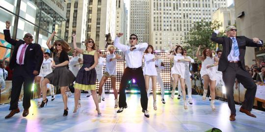 Paling disukai di YouTube, Gangnam Style pecahkan rekor dunia
