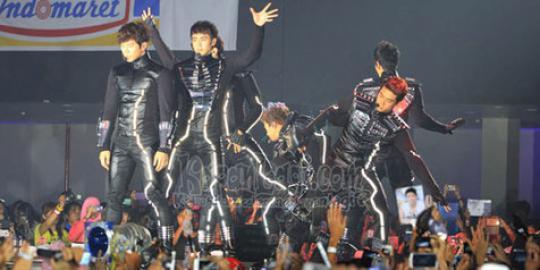 Sukses konser di Indonesia, 2PM berterima kasih ke fans