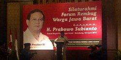 Prabowo sindir Jokowi: Harusnya dapat Piala Citra
