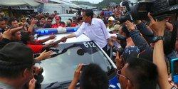 Kampanye di Papua, Jokowi ogah komentar soal Freeport