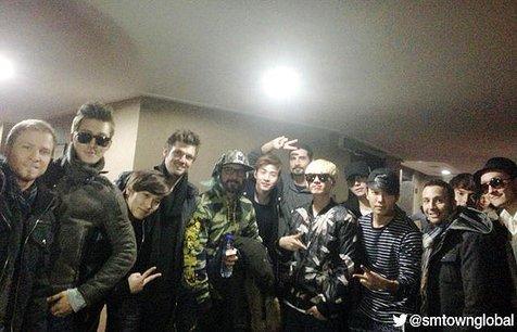 Super Junior M - Backstreet Boys, 2 boyband beda generasi yang terkenal ©sup3rjunior.com