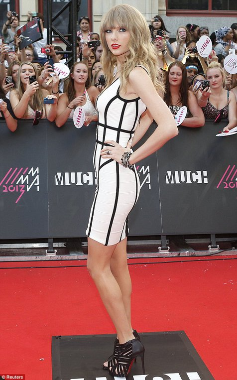 Taylor Swift @foto: Daily Mail