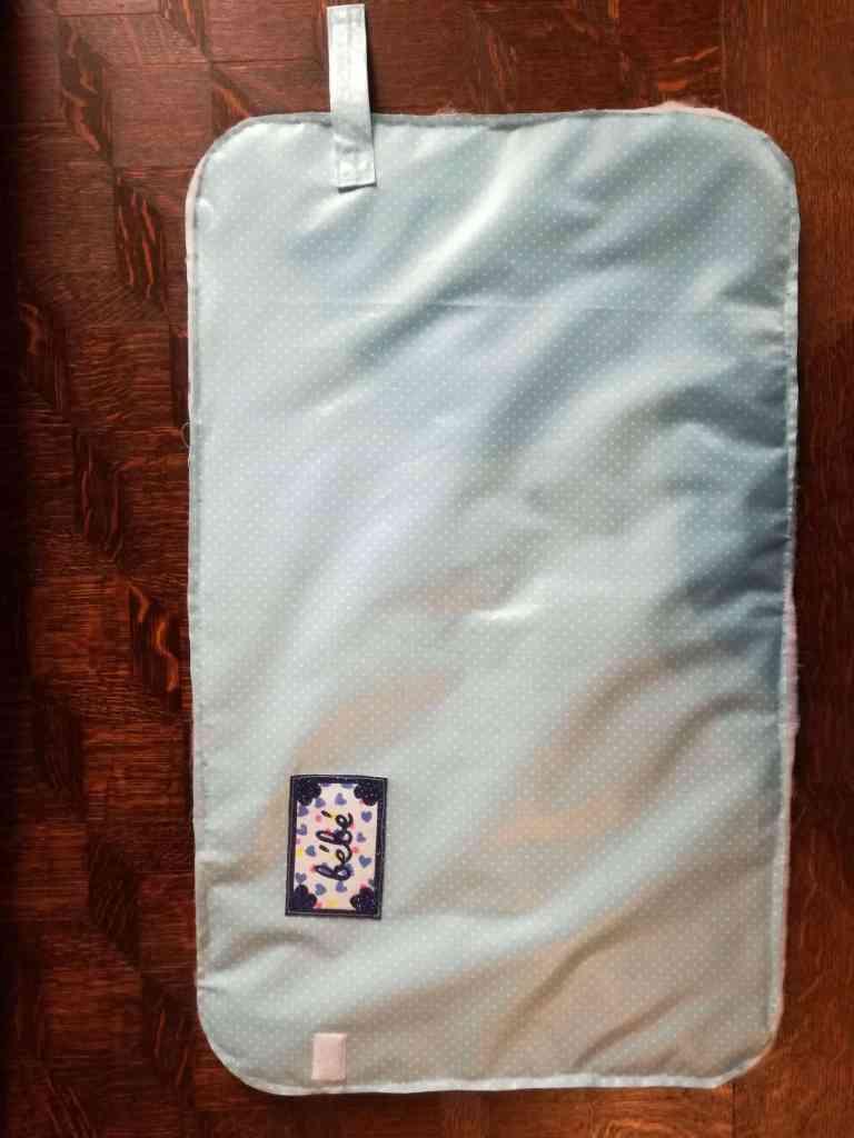 Tuto de ma pochette à langer nomade, le tapis assemblage