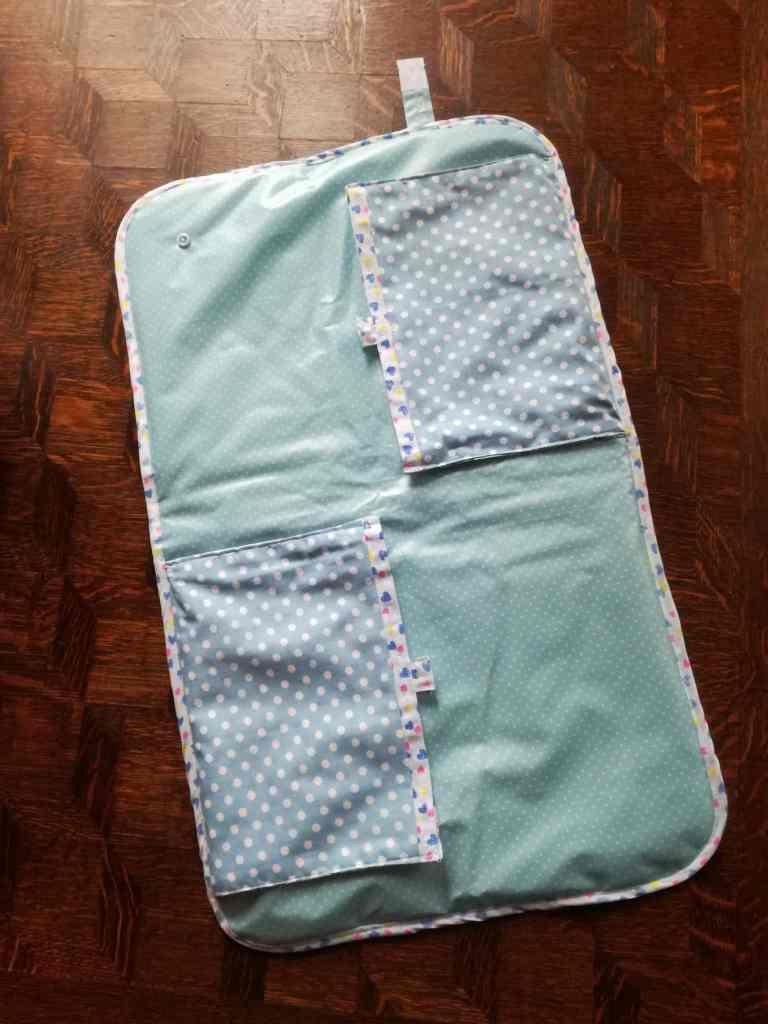 Tuto de ma pochette à langer nomade, le tapis
