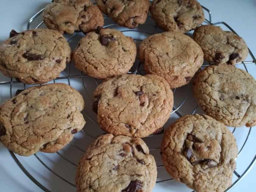 Recette des cookies moelleux aux pépites de chocolat : cuisson