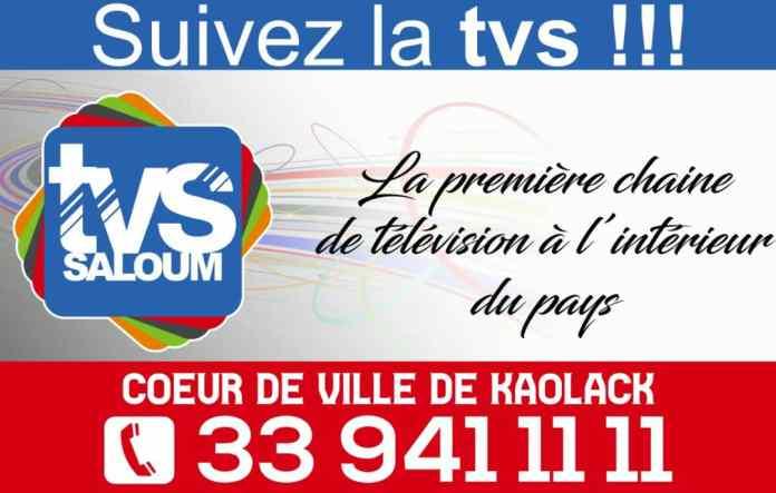 """Ousmane Thiaw coordonnateur de la TVS : """"certains Kaolackois préfèrent payer 100f aux télés de Dakar que 10f à la télévision régionale"""""""