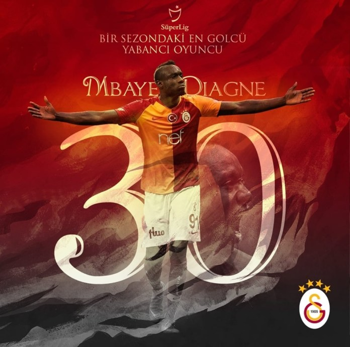 Mbaye Diagne, Galatasaray