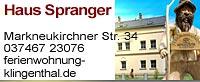 Haus Spranger Klingenthal