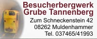 Besucherbergwerk Grube Tannenberg