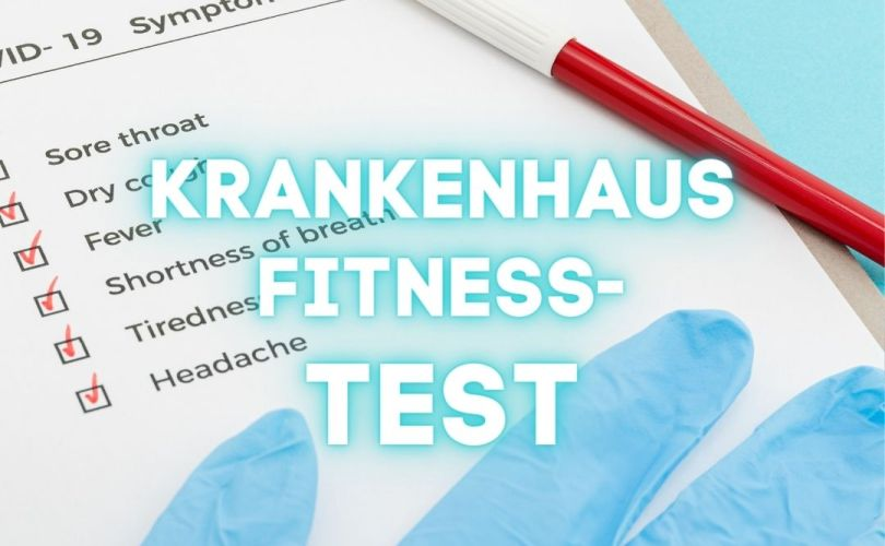 Krankenhausfitness-Test