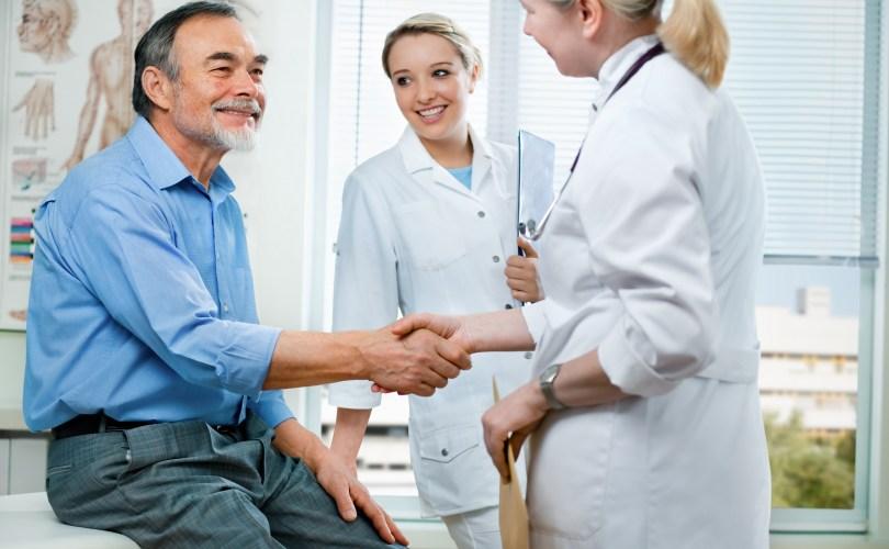 Arztgespräch-Entlassung