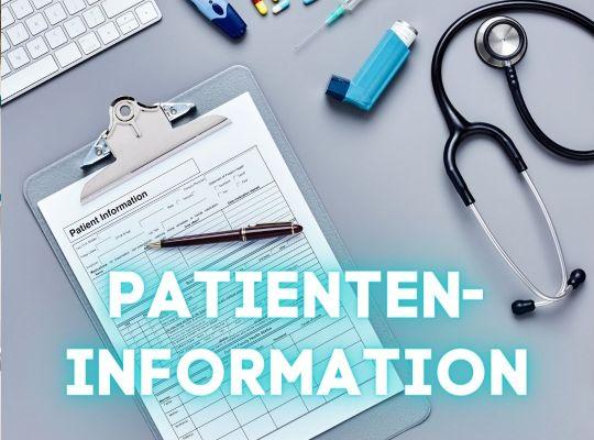 Patienteninformation-Krankenhausaufenthalt