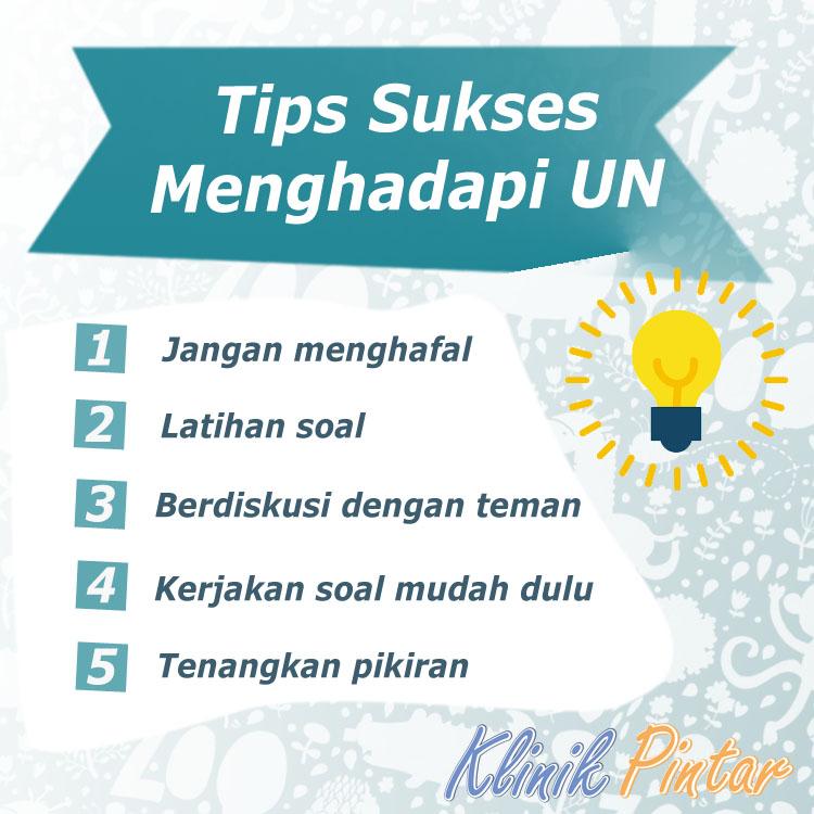 Tips Sukses UN (Ujian Nasional)