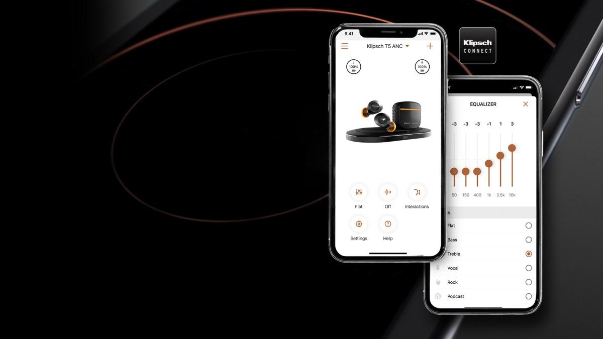 Klipsch T5 11 Connect App